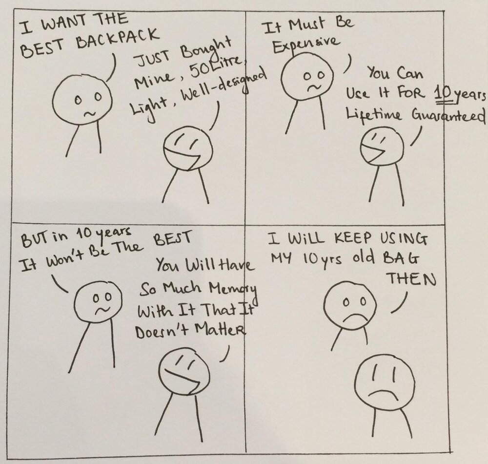 Student Huong Vu used the  improv techniques  from John McNamee's Skillshare class to make a comic.