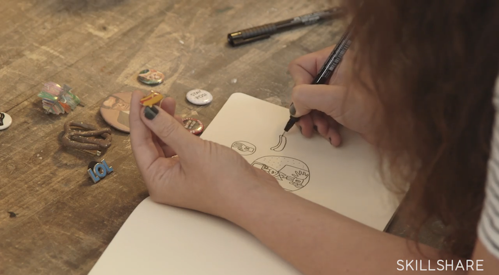 Use drawing to keep a record of your most loved objects.