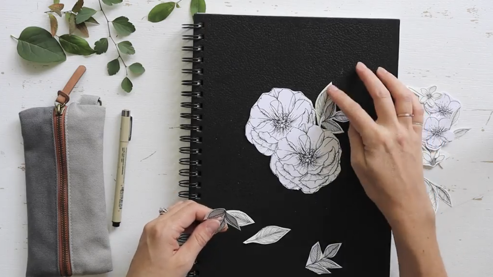 Practice drawing nature while improving your eye for composition.