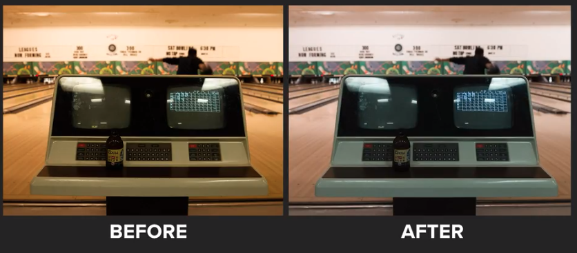 Adjusting the white balance makes your photos look more realistic.