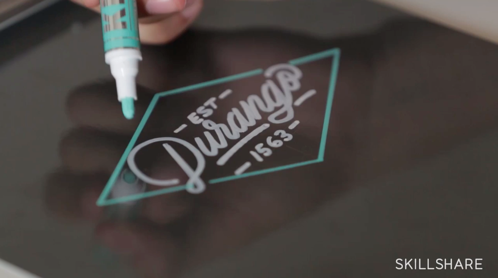 Adding simple elements can turn your lettering into a logo!
