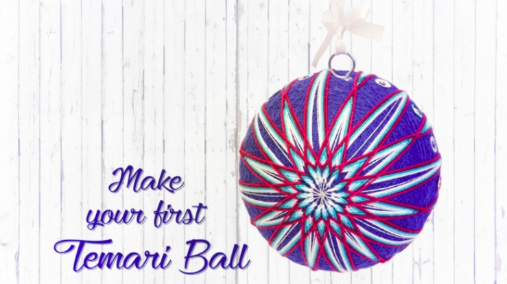 Not sure what a temari ball is? Follow  Joanna  to find out!