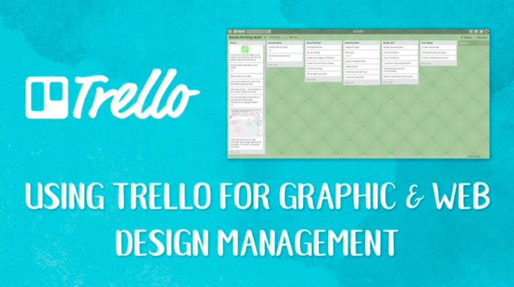 Tanya  will teach you to use Trello for Graphic & Web Design Management
