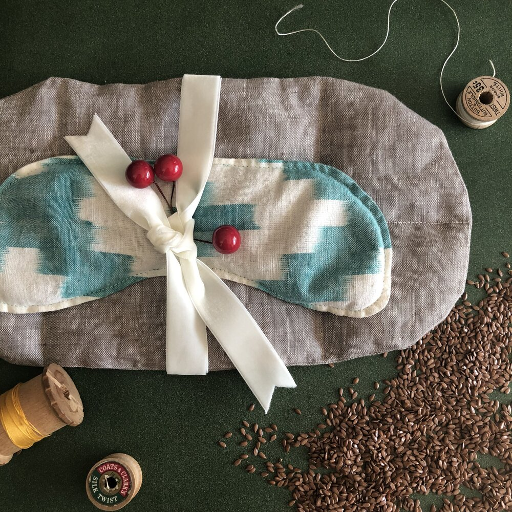 Eye pillow by Thora Ford
