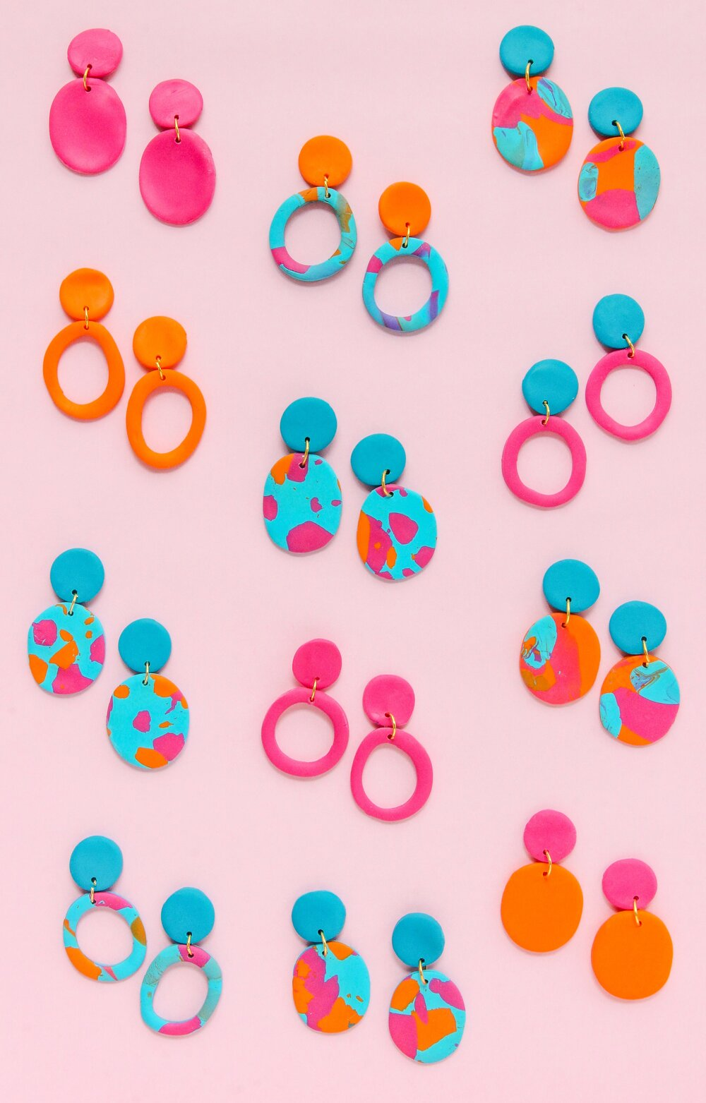 Earrings by Rachel Mae Smith, The Crafted Life