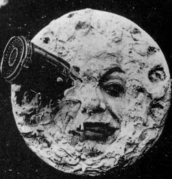 George Méliès'  A Trip to the Moon  in 1902 was one of the first films to realize the medium's creative potential.