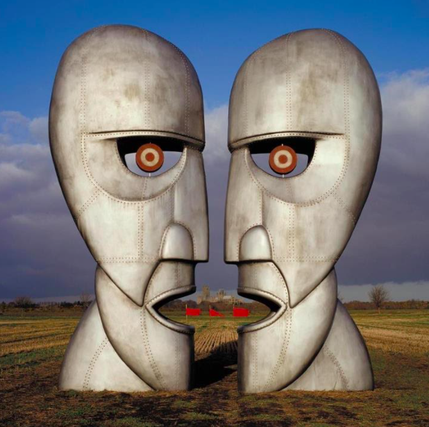 The Division Bell  album cover   by Pink Floyd