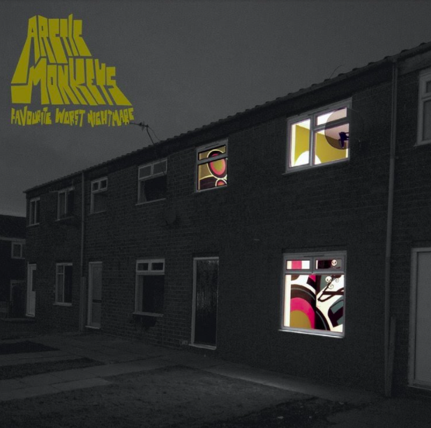 Favorite Worst Nightmare  album cover   by the Arctic Monkeys