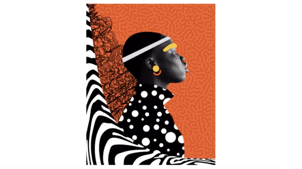 "From Temi Coker's Skillshare Original, ""Graphic Design: Create a Bold, Colorful Album Cover"""