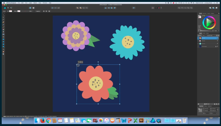 Master the art of basic pattern design with this Affinity Designer class.