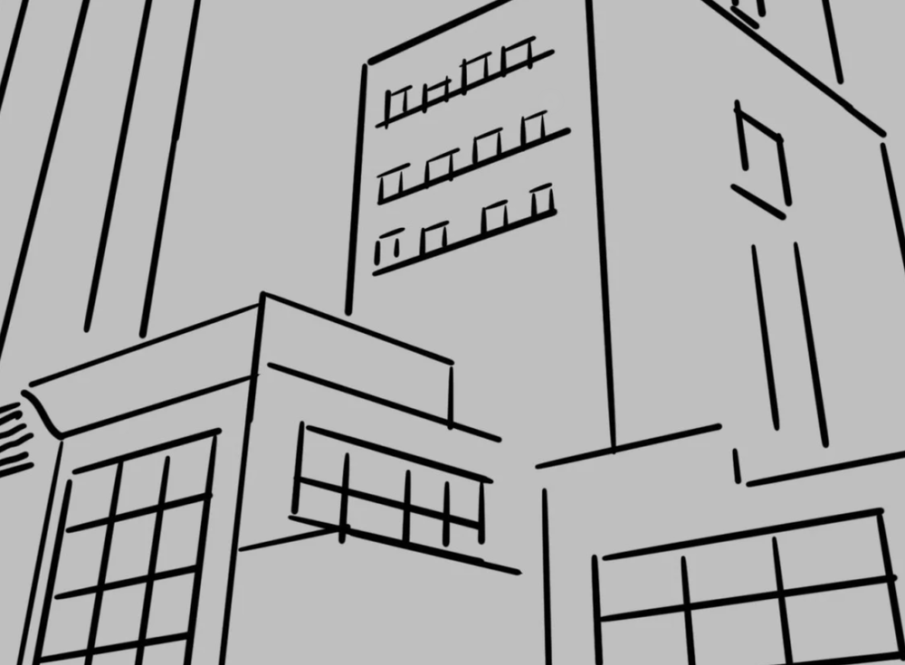 sketching with perspective