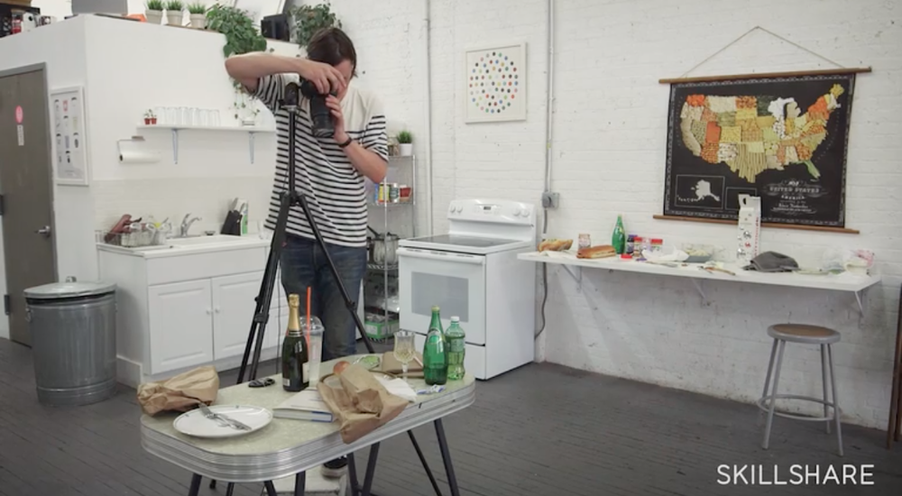Skillshare instructor and photographer Henry Hargreaves shares how to style and shoot food to create quirky and fun images.