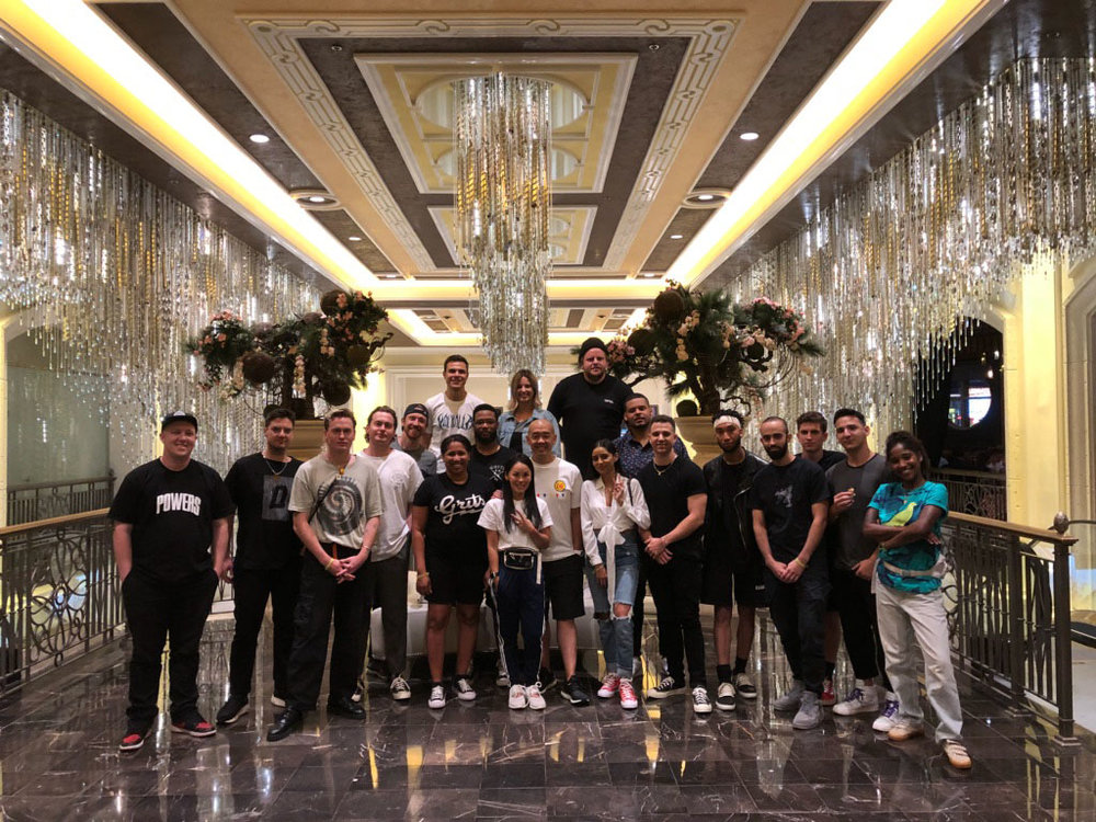 Six teams meet at Las Vegas after flying in from as far away as Sydney Australia to participate in the Agenda Show with Skillshare and Jeff Staple.