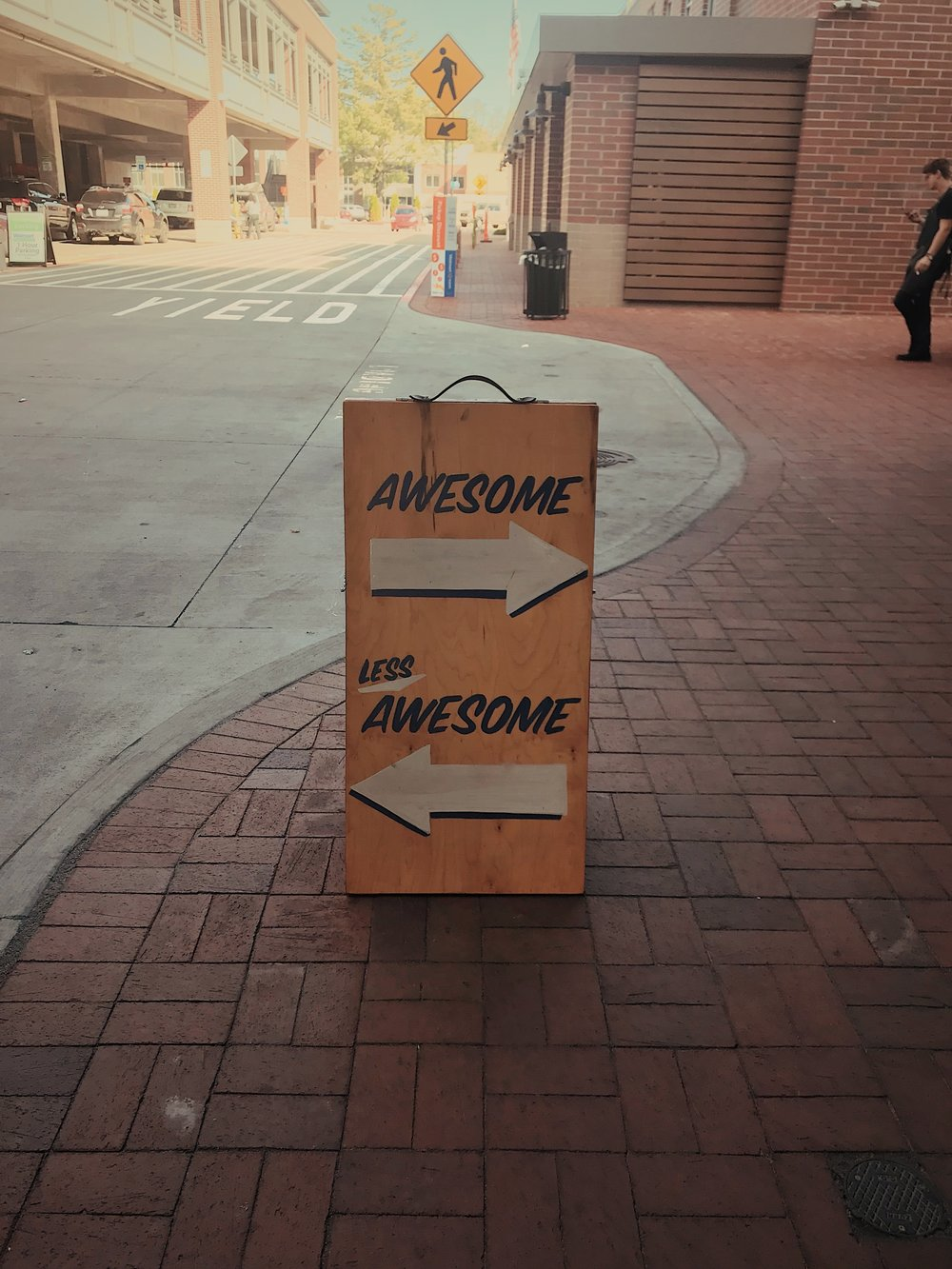 The road to being awesome is paved with surveys ( image source )
