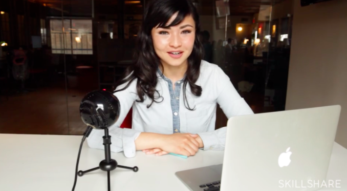 Teaching courses on sites like Skillshare can be a great way to diversify your income.