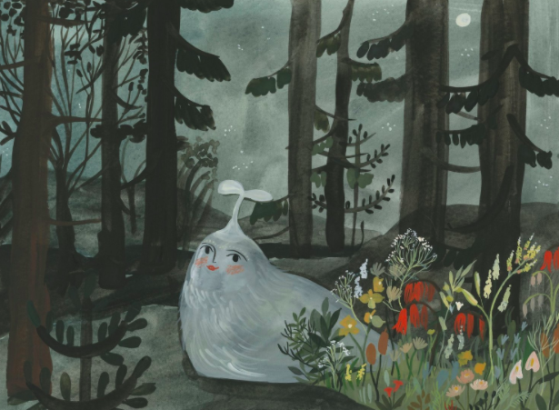 Yam the Spring Time Snail by Esme Shapiro