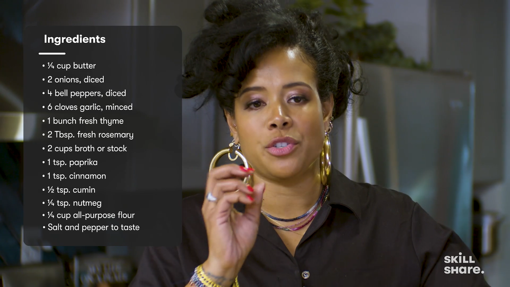 Kelis demonstrates how to make a show-stopping gravy.