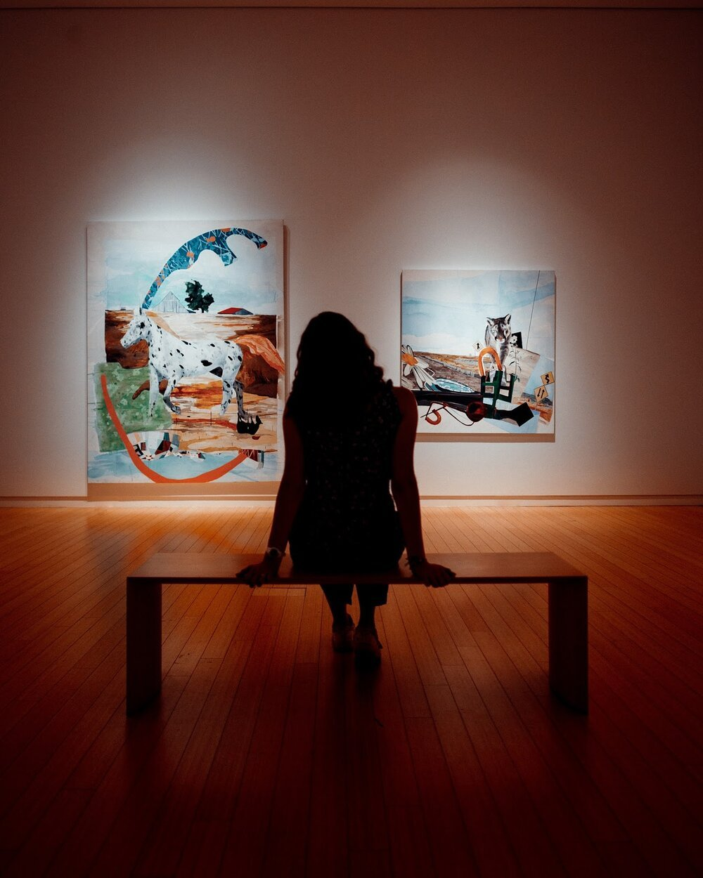 Galleries and museums can inspire your own creations and give you time to reflect as you move from room to room.