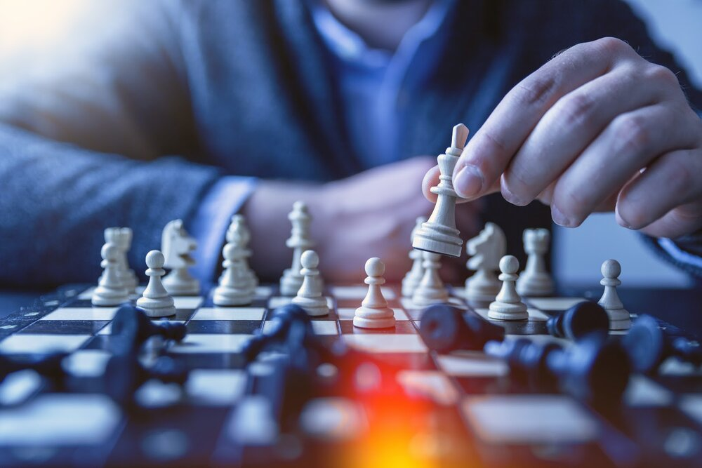 Mind-focused activities like puzzles and chess help to keep your brain agile and alert.