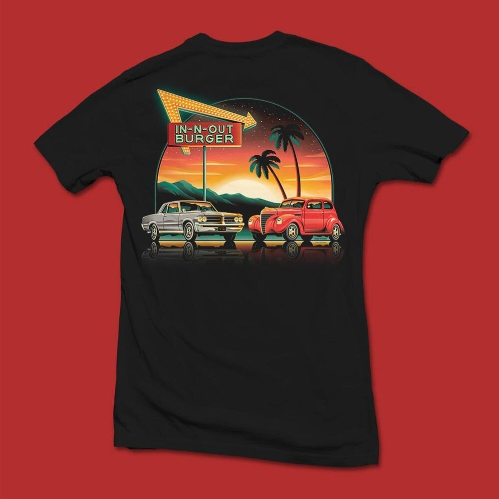 DKNG's design for an In-N-Out t-shirt