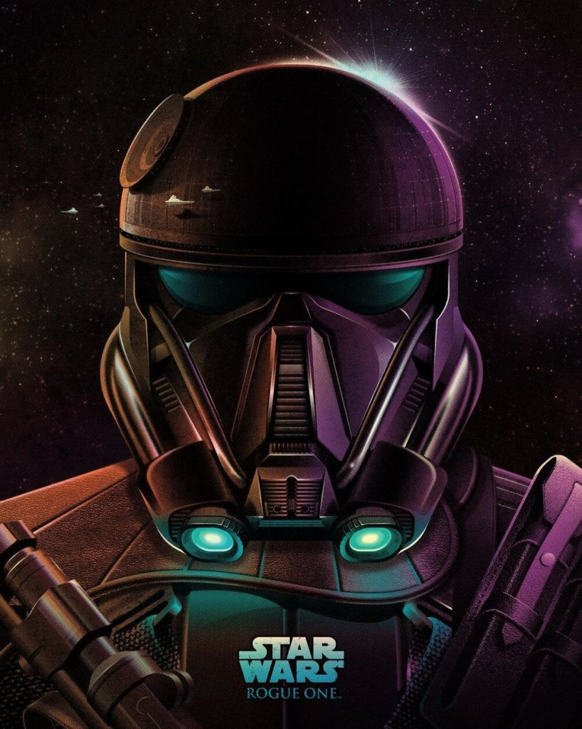 DKNG's movie poster for Star Wars Rogue One