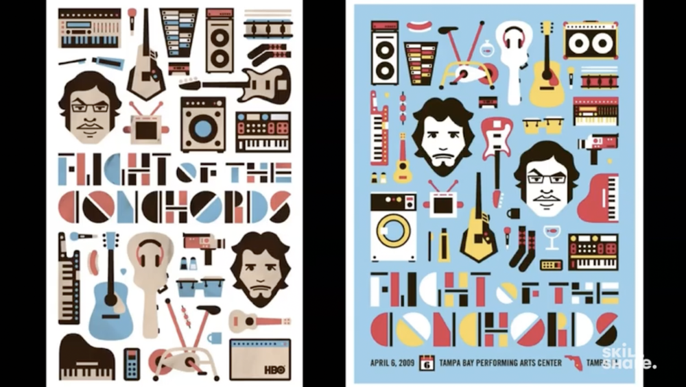 DKNG's first poster for Flight of the Conchords
