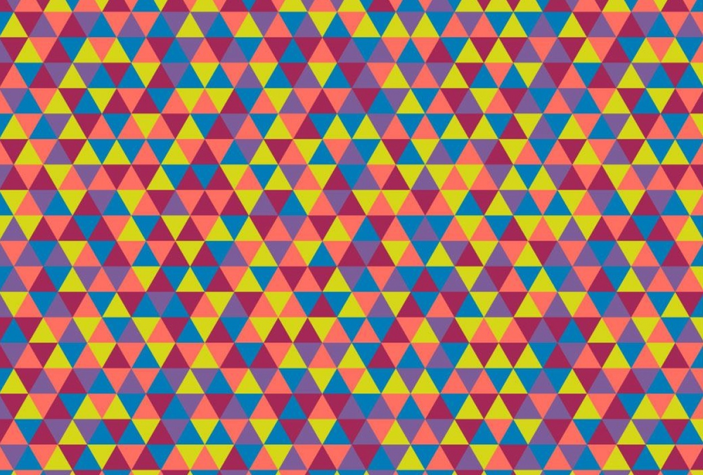 Student work by Amy Cohas for   Geometric Patterns 101: Triangular Patterns