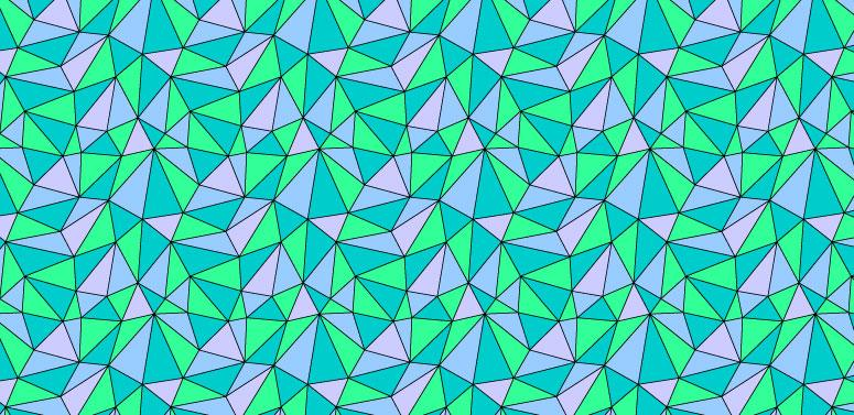 Student work by Caroll Lenthall for   Illustrator for Lunch: Create a Range of Triangle Patterns