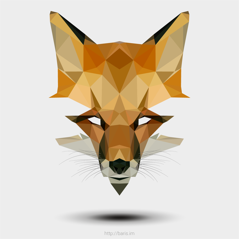 Low poly patterns are a type of modern geometric pattern design using less predictable configurations of shapes.