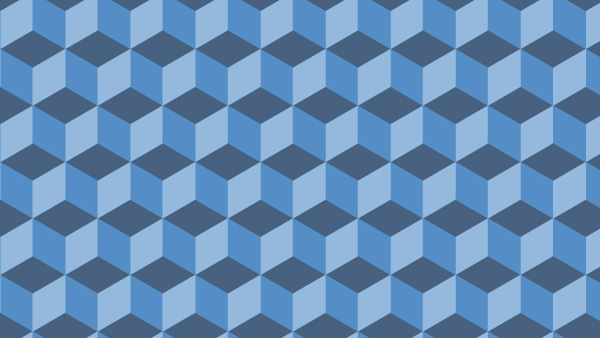 Learning how to design a geometric pattern in Photoshop and other programs will enable you to make designs like this easily.