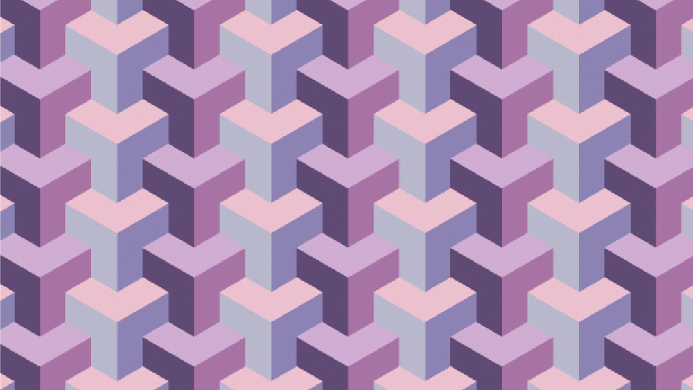 Student work by Hokuao G. for   Illustrator for Lunch - Make a 3D Y Shape Pattern