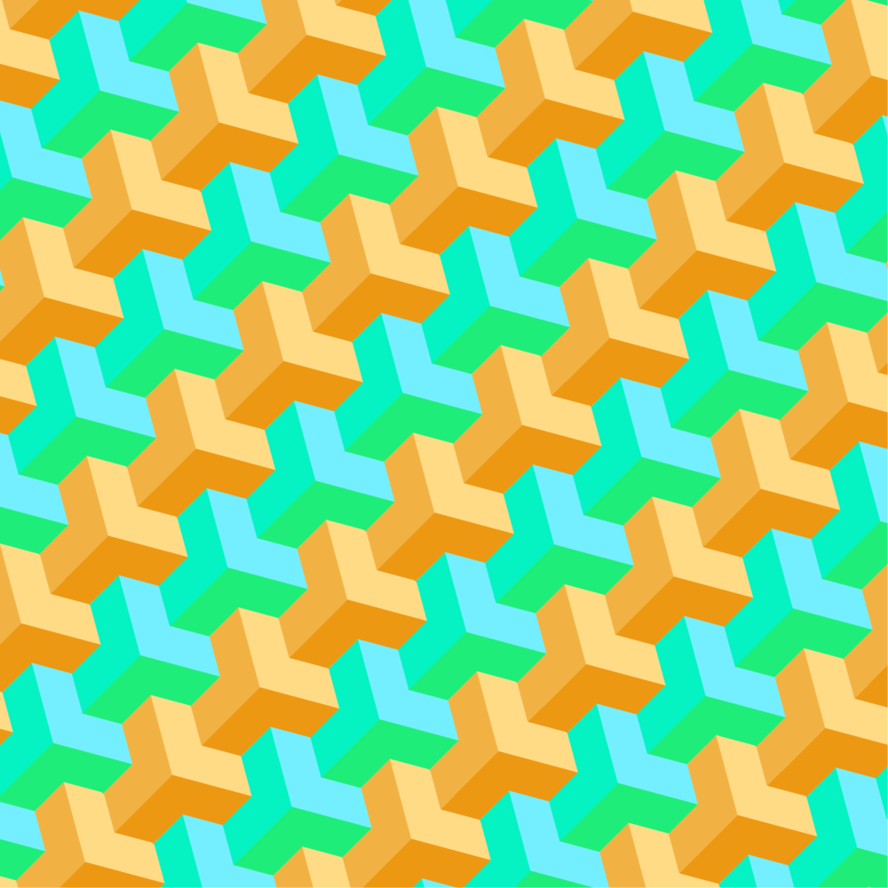 Student work by Aryana R. for    Illustrator for Lunch - Make a 3D Y Shape Pattern