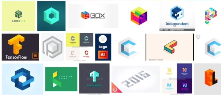 An isometric logo is still fairly unusual, which makes it a great choice for creating a highly memorable and recognizable brand identity.