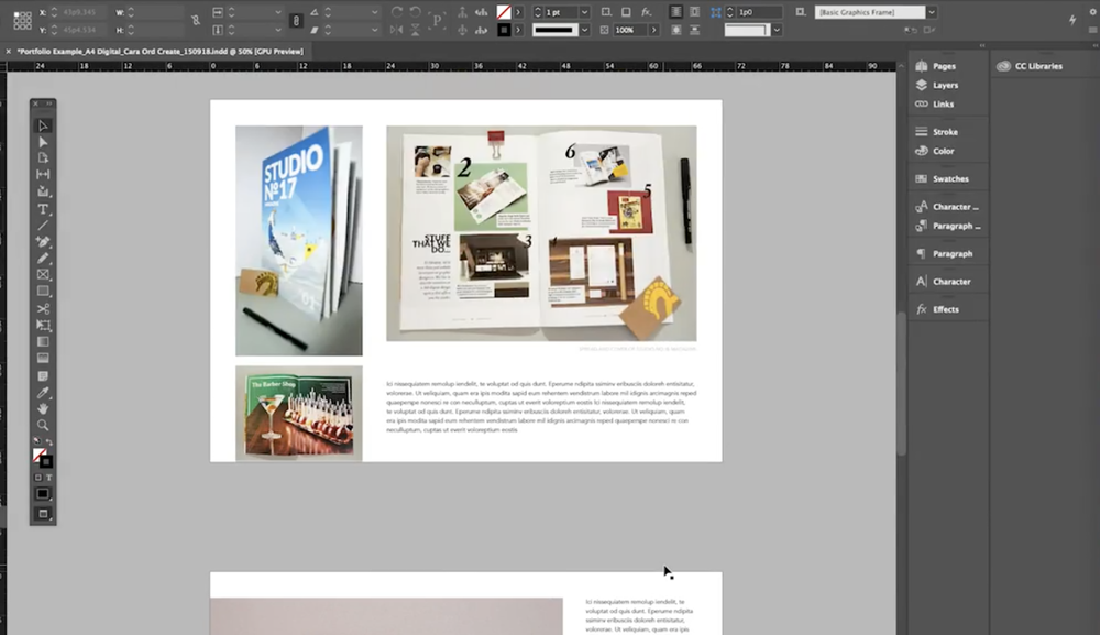 Skillshare instructor and professional graphic designer Cara Ord shares how to build and brand your creative portfolio.