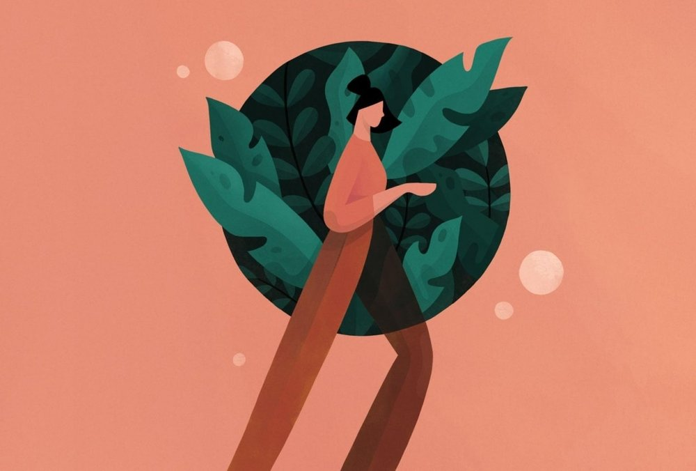 Image by Skillshare student Brianna A. for Jarom Vogel's  Digital Illustration: Learn to Use Procreate