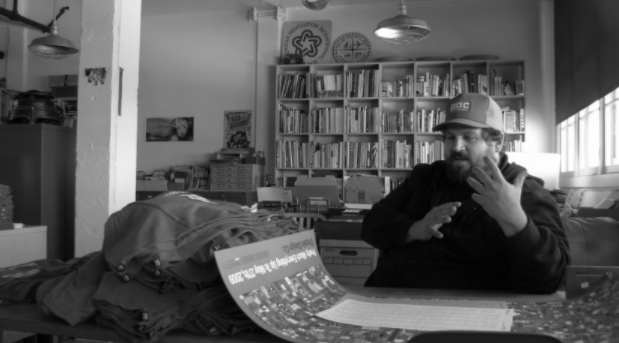 Aaron Draplin (image by   Incase  , licensed under   CC BY 2.0  )