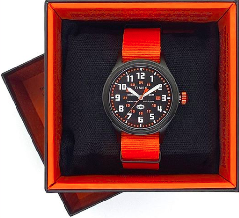 TIMEX x DDC Standard Issue Scout Watch designed by Draplin