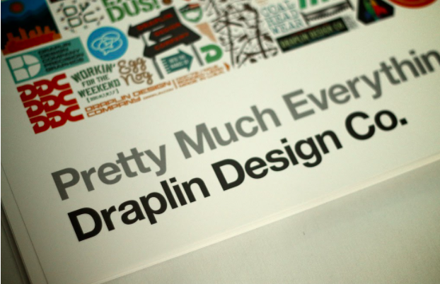 "Draplin's book, ""Pretty Much Everything"" is beloved in the design world (image by   AIGA Wisconsin  , licensed under   CC BY 2.0  .)"