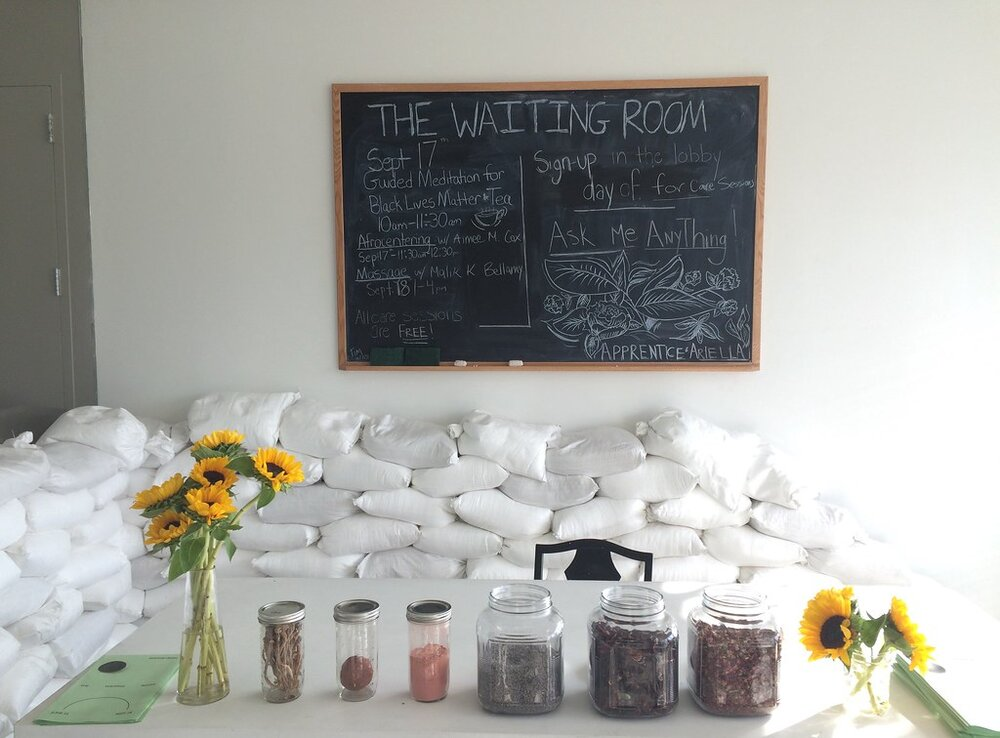 """""""Simone Leigh: The Waiting Room at the New Museum""""    photo by    Local Ecologist   . Licensed under Creative Commons."""