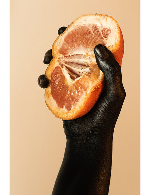 Inspection from the Size of a Grapefruit series    by Eva Woolridge. Photo courtesy of the artist.
