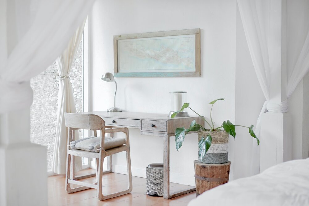 Source:    Unsplash     In small spaces, less can most definitely be more.