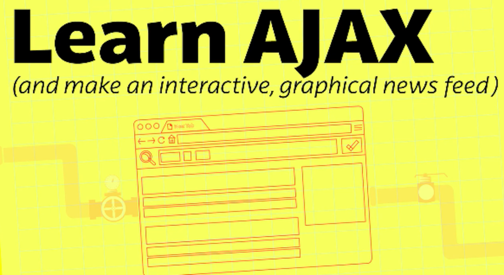 Luke will teach you to use AJAX to make your static web pages interactive