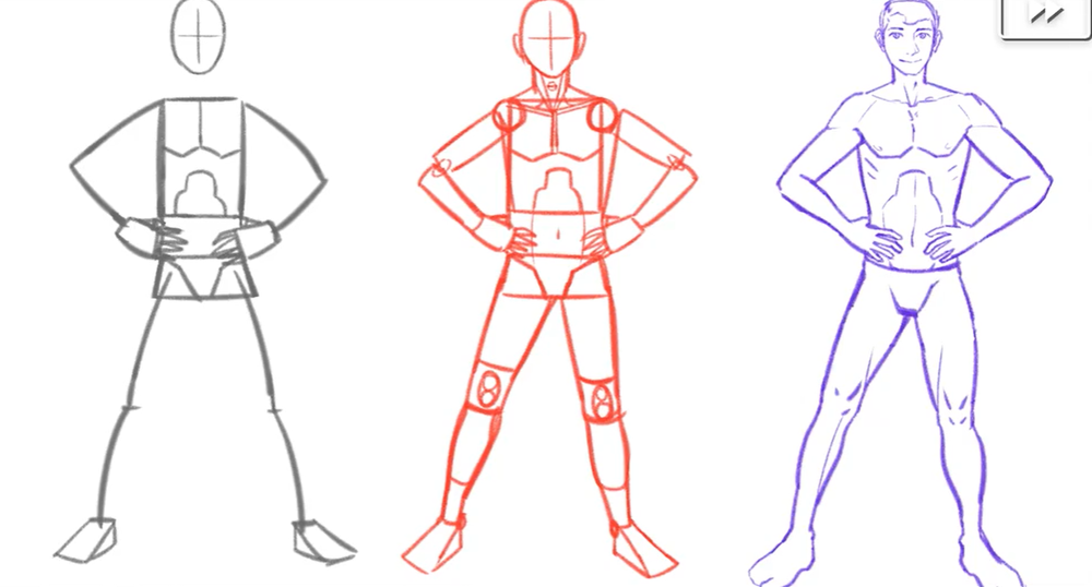 Learning how to draw anime poses can be a good way to practice drawing poses in general.