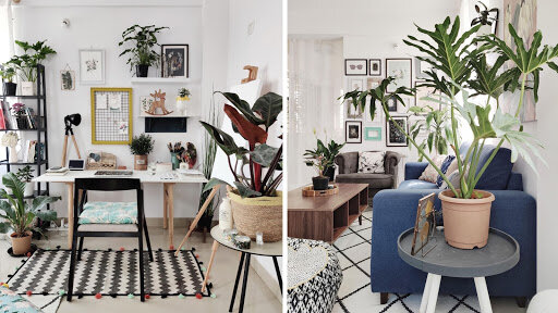 Skillshare instructor Vidhi Khandelwal brings the outdoors into her home office.