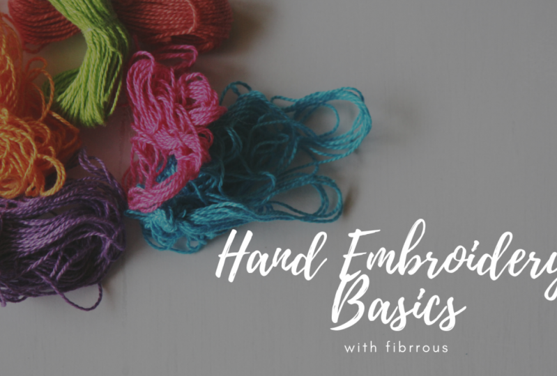 Learn the basics of hand embroidery and how to design a unique pattern using stitch techniques with  Amanda .