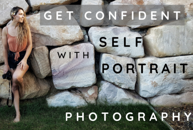 Jess  walks through her creative process for capturing self-portraits.