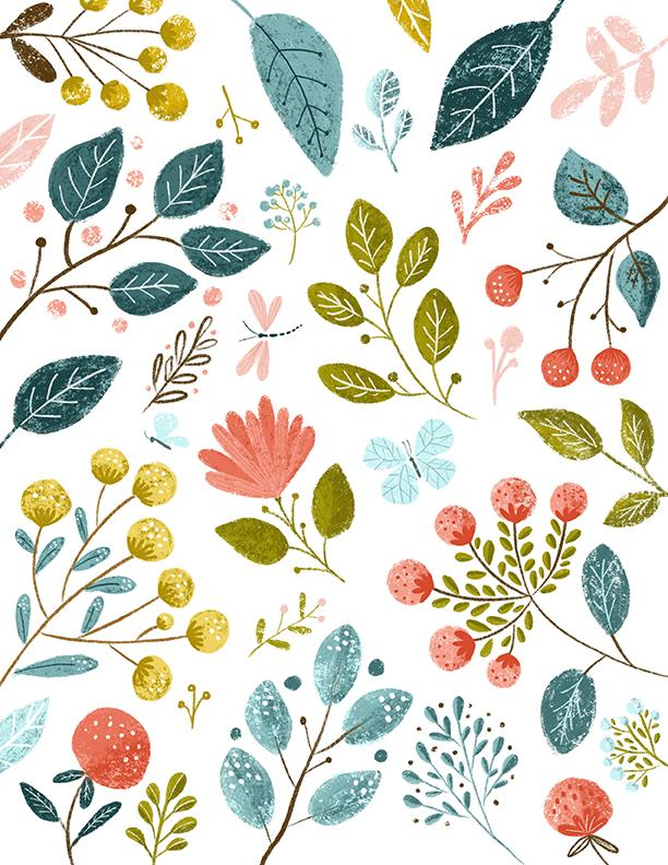 Leaves made in procreate