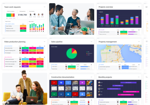 Monday.com is an all-in-one project management tool.