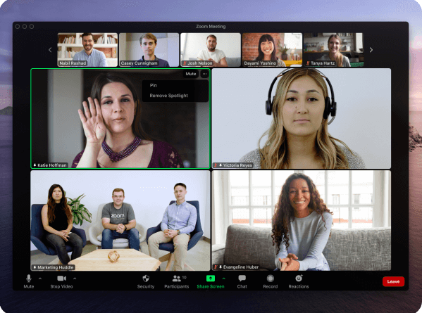 Zoom has become the norm for virtual meetings.