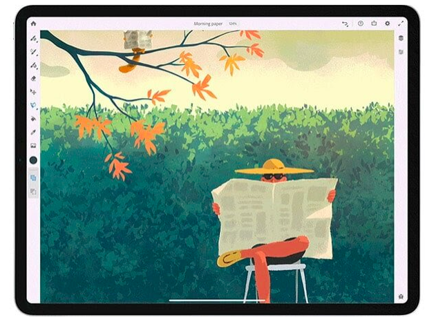 Adobe's digital apps make travel art as simple as turning your iPad on.
